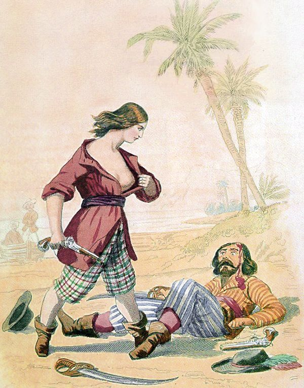 Picture Of Famous Female Pirate Marry Read