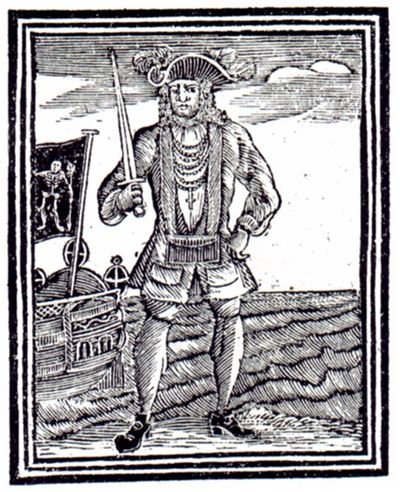 Picture Of Famous Pirate Bartholomew Roberts