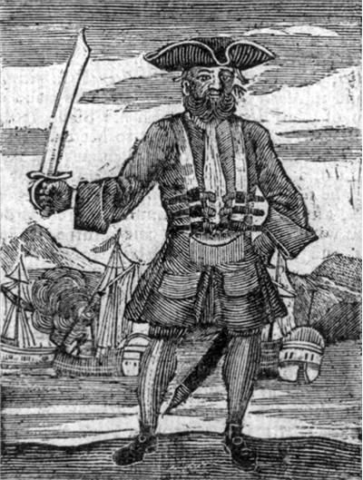 Picture Of Famous Pirate Blackbeard