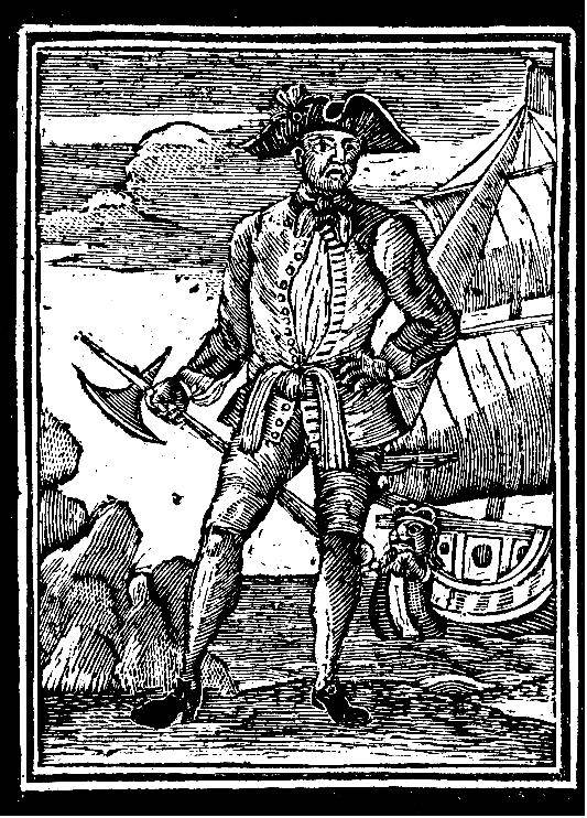 Picture Of Famous Pirate Edward England