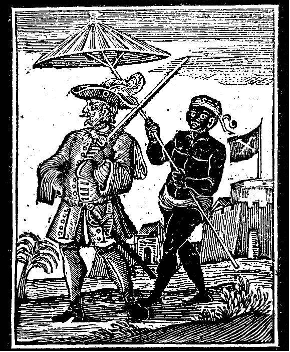 Picture Of Famous Pirate Henry Every And Slave