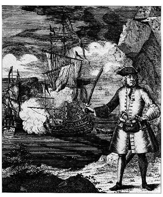 Picture Of Famous Pirate Henry Every