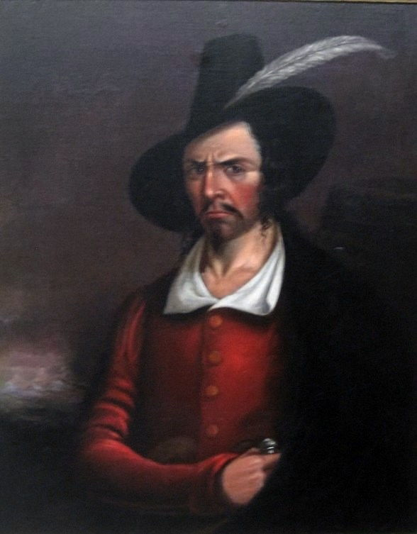 Picture Of Famous Pirate Jean Lafitte